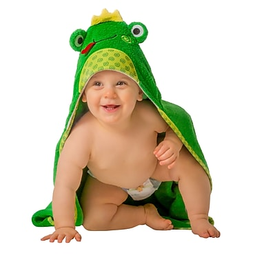 Zoocchini Baby Towel, Flippy the Frog