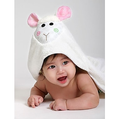 Zoocchini Baby Towel, Lola the Lamb