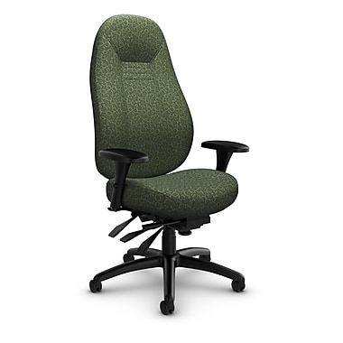 Global Obusforme Comfort 24 Hour High Back Multi Tilter, 'Oxygen-Lime' Fabric, Green
