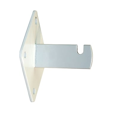 Can-Bramar - Support de fixation murale pour panneau de grillage, blanc, 10/paquet