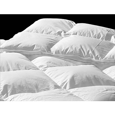 Highland Feather – Couette en duvet d'été de contexture 233, blanc, grand lit