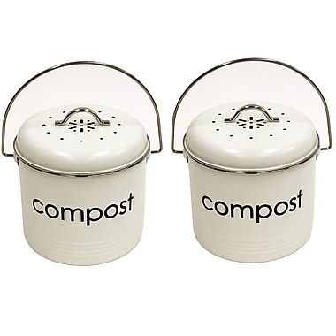 Compost Bins, White