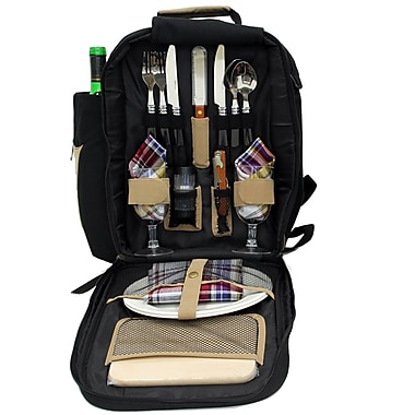 2 or 4 Person Picnic Backpacks