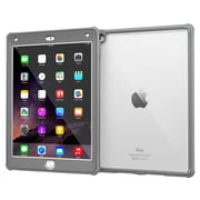 rOOCASE Glacier Tough TPU Armor Case Cover for iPad Air 2, Space Gray