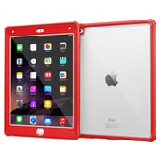 rOOCASE Glacier Tough TPU Armor Case Cover for iPad Air 2, Testarossa Red