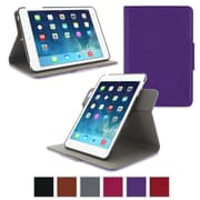rOOCASE Orb Leather 360 Deg Rotating Dual-View Folio Smart Case Cover for iPad Mini with Retina Display, Purple