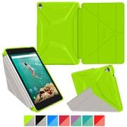 "rOOCASE Origami Polyurethane 3D Slim Shell Folio Smart Case Covers for 8.9"" Google Nexus 9"