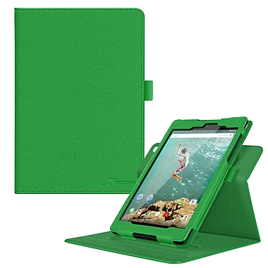 rOOCASE PU Leather Dual-View Folio Smart Case Cover for 8.9
