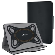 """rOOCASE Orb Synthetic Leather Folio Smart Case with Stand for Use with 8.9"""" - 10.5"""" Universal Tablet, Black"""