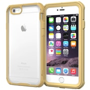 """rOOCASE Glacier Tough Clear Back Full Body Armor Case Covers for 4.7"""" iPhone 6"""