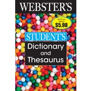 Webster's Student Dictionary and Thesaurus