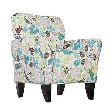 SEI Madigan Polyester Arm Chair, Multi (UP9308)