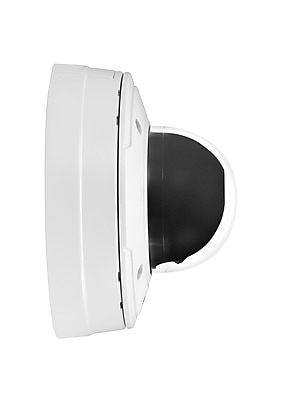 Axis Communications 0407-001 Wired Dome Network Camera, White