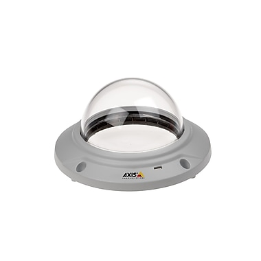 Axis Communications 0535-001 Wired Fixed Dome Network Camera With Ir Illumination, White