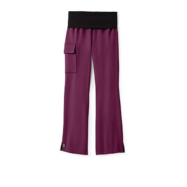 Medline Ocean ave Women Large Scrub Pants, Wine (5560WNEL)