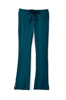 Medline Melrose ave Women Large Petite Scrub Pants, Caribbean Blue (5580CRBLP)