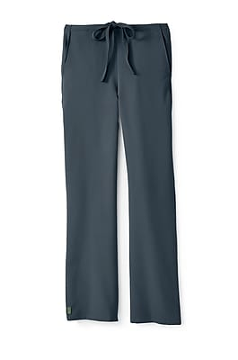 Medline Newport ave Unisex Large Tall Scrub Pants, Charcoal (5900CHRLT)