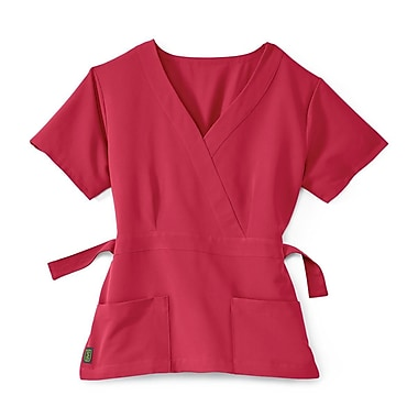 Medline Park ave Women Large Scrub Top, Pink (5587PNKL)