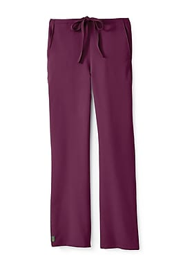 Medline Newport ave Unisex Small Scrub Pants, Wine (5900WNES)