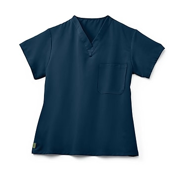 Medline Fifth ave Unisex 2XL Scrub Top, Navy (5910NVYXXL)