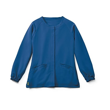 Medline Addison AVE. Unisex XS Scrub Jacket, Royal Blue (5540RYLXS)