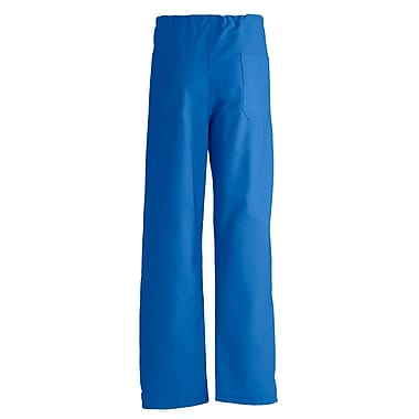 Medline PerforMAX Unisex Large Reversible Scrub Pants, Royal Blue (800JRLL-CA)