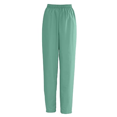 Medline AngelStat Women XL Elastic with Draw Cord Scrub Pant, Jade (854NTJXL)