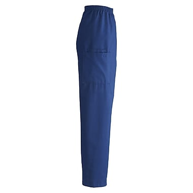 Medline ComfortEase Unisex 2XL, Medium Length Cargo Scrub Pants, Royal Blue (9351JRLXXLM)