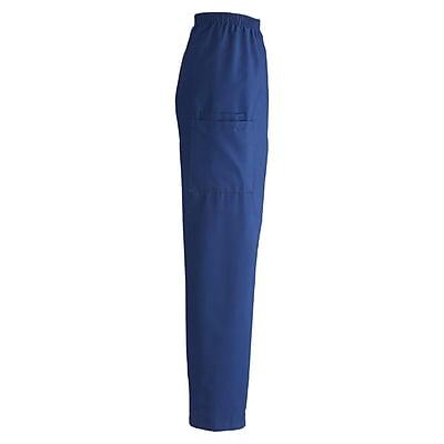 Medline ComfortEase Unisex 2XL, Medium Length Cargo Scrub Pants, Royal Blue (9351JRLXXLM)