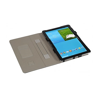 i-Blason GNOTE12-1F-BLK Synthetic Leather Folio Case for Samsung Galaxy NotePro, Black