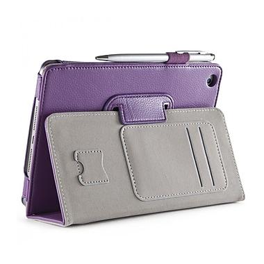 i-Blason MINI2-1F-PURPLE Synthetic Leather Folio Case for Apple iPad Mini 3, Purple
