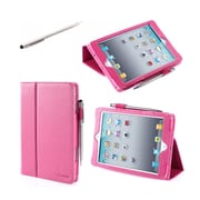 i-Blason MINI2-1F-PINK Synthetic Leather Folio Case for Apple iPad Mini 3, Pink