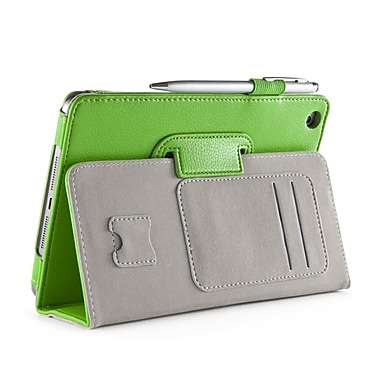 i-Blason MINI2-1F-GREEN Synthetic Leather Folio Case for Apple iPad Mini 3, Green