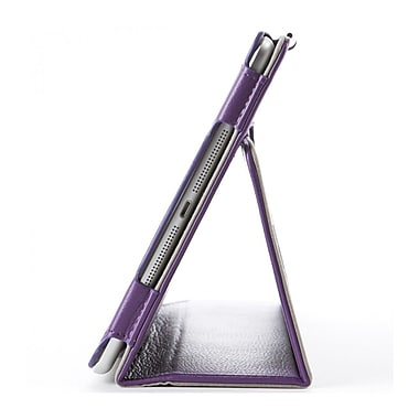 i-Blason IPAD5-1F-PURPLE Synthetic Leather Folio Case for Apple iPad Air, Purple