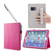 i-Blason IPAD5-1F-PINK Synthetic Leather Folio Case for Apple iPad Air, Pink