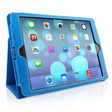 Snugg B00GY6Q1AM Polyurethane Leather Folio Case Cover and Flip Stand for Apple iPad Air/iPad 5, Blue