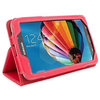 Snugg B00EPE1EXO Polyurethane Leather Folio Case Cover and Flip Stand for 7