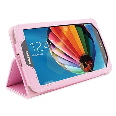Snugg B00EPDZXUK Polyurethane Leather Folio Case Cover and Flip Stand for 7