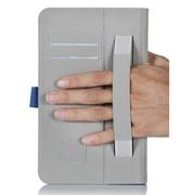 i-Blason MEMOPAD8-1F-BLU Synthetic Leather Folio Case for Asus Memo Pad 8, Blue