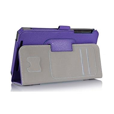 i-Blason MEMOPAD7-1F-PUR Synthetic Leather Folio Case for ASUS MeMo Pad 7