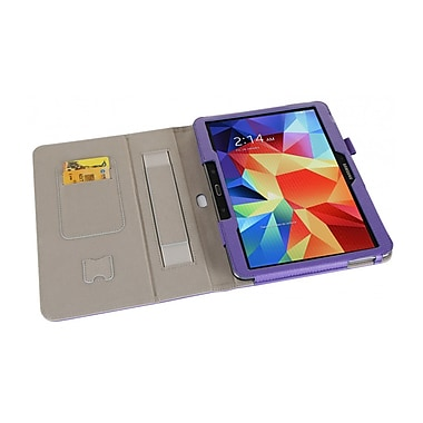 i-Blason GTAB4-10-1F-PUR Synthetic Leather Slim Book Case for 10