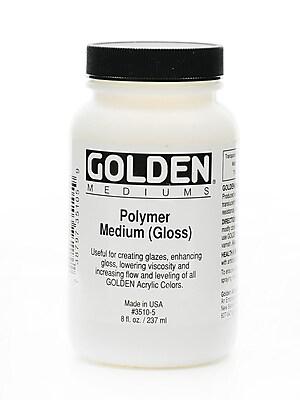 Golden Polymer Medium Gloss 8 oz.