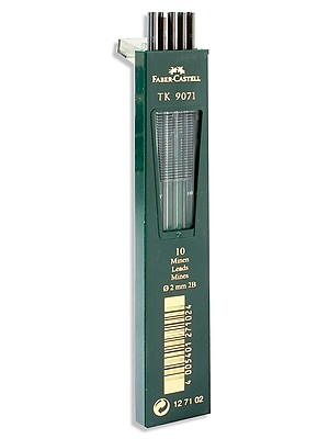 Faber-Castell TK 9400 Clutch Drawing 2B Pencil Leads, 10/Set, 3/Pack (98413-PK3)