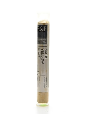 R and F Handmade Paints Pigment Sticks mars yellow light 38 ml [Pack of 2]