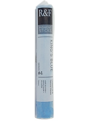 R and F Handmade Paints Pigment Sticks king's blue 38 ml