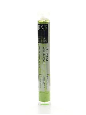 R and F Handmade Paints Pigment Sticks cadmium green pale 38 ml