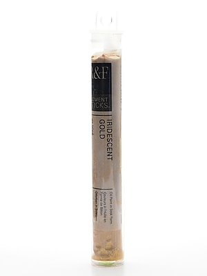 R and F Handmade Paints Pigment Sticks iridescent gold 38 ml