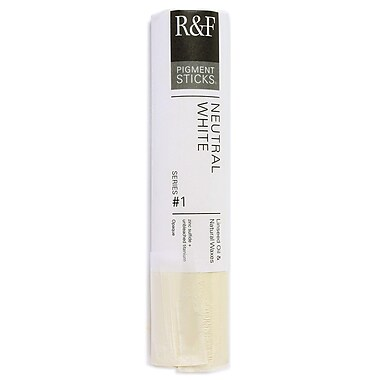R and F Handmade Paints Pigment Sticks neutral white 188 ml