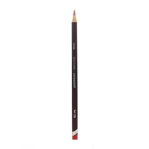 Derwent Coloursoft Pencils red C120 [Pack of 12]