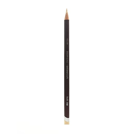 Derwent Coloursoft Pencils peach C560 [Pack of 12]